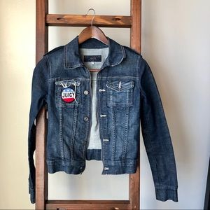Juicy Couture Denim Jacket Size Small